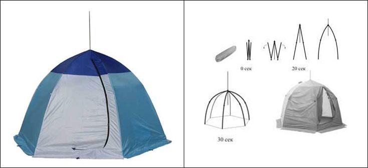 Мешок палатка для зимней рыбалки своими руками 46